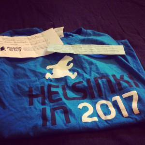 Helsinki in 2017!